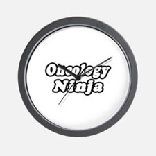 """Oncology Ninja"" Wall Clock"