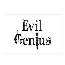 Evil Genius Postcards (Package of 8)