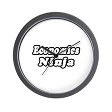 """Economics Ninja"" Wall Clock"