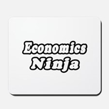 """Economics Ninja"" Mousepad"