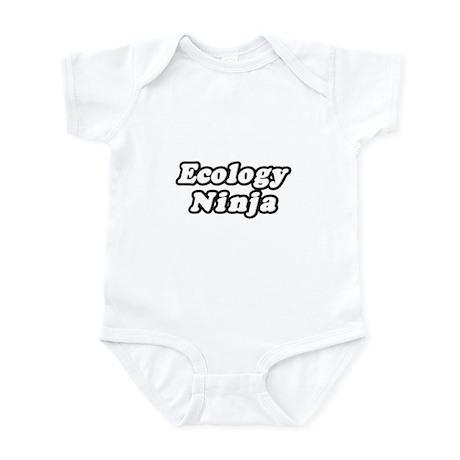 """Ecology Ninja"" Infant Bodysuit"