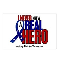 Never Knew A Hero 2 Military (Girlfriend) Postcard