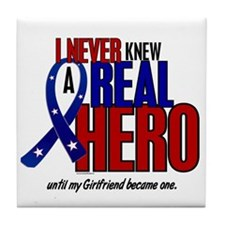 Never Knew A Hero 2 Military (Girlfriend) Tile Coa