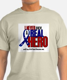 Never Knew A Hero 2 Military (Girlfriend) T-Shirt