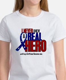 Never Knew A Hero 2 Military (Girlfriend) Tee