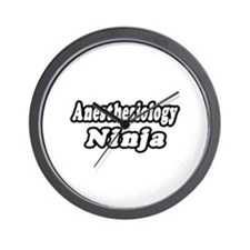 """Anesthesiology Ninja"" Wall Clock"