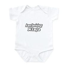 """Anesthesiology Ninja"" Infant Bodysuit"