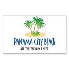 Panama City Beach Therapy - Rectangle Decal