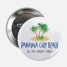 "Panama City Beach Therapy - 2.25"" Button"