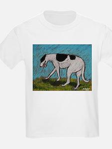 """No Direction"" a Greyhound Kids T-Shirt"