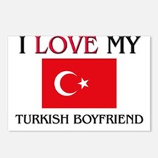 I Love My Turkish Boyfriend Postcards (Package of