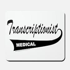 TRANSCRIPTIONIST Mousepad