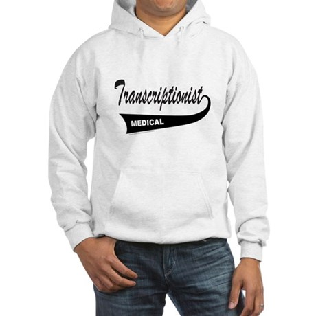 TRANSCRIPTIONIST Hooded Sweatshirt