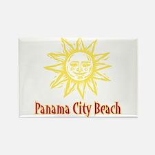 Panama City Beach Sun - Rectangle Magnet