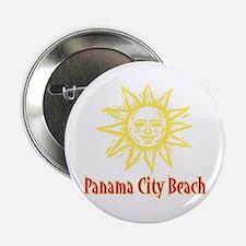 """Panama City Beach Sun - 2.25"""" Button"""