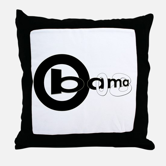 Obama 08 [revised] Throw Pillow