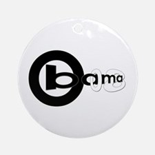 Obama 08 [revised] Ornament (Round)