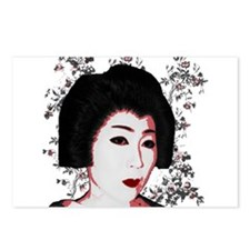 Riyah-Li Designs Geisha Postcards (Package of 8)
