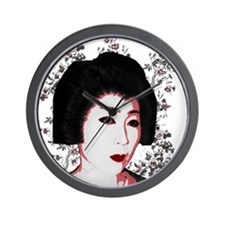 Riyah-Li Designs Geisha Wall Clock