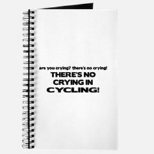 There's No Crying in Cycling Journal