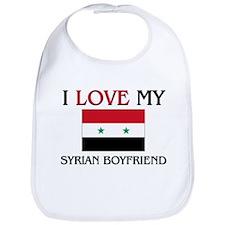I Love My Syrian Boyfriend Bib