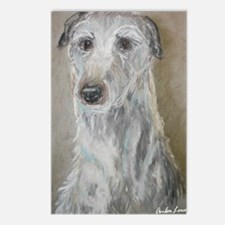 """Dear Darby"" a Deerhound Postcards (Package of 8)"