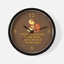 Dickens Wisdom Wall Clock