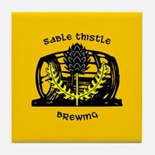 Sable Thistle Brewing Tile Coaster