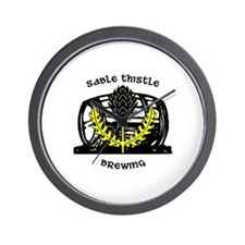 Sable Thistle Brewing Wall Clock