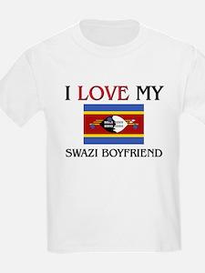 I Love My Swazi Boyfriend T-Shirt