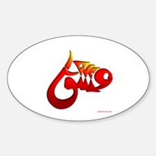 Eshgh and Love 3D Oval Decal