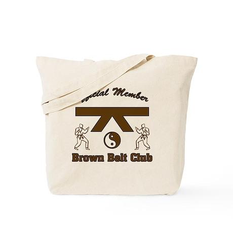Brown Belt Club Tote Bag