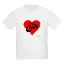 Eshgh and Love in a heart T-Shirt