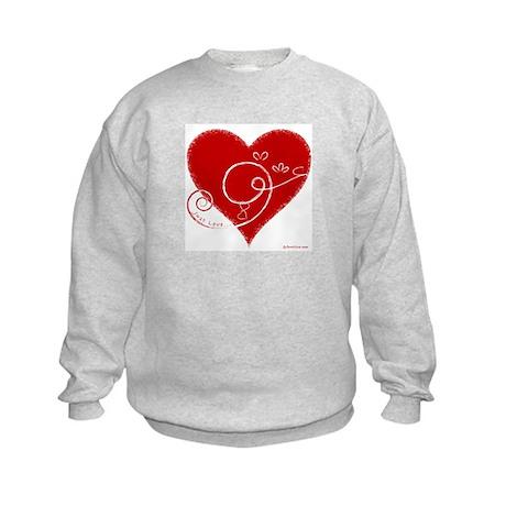 Eshgh (Love in Persian) Kids Sweatshirt
