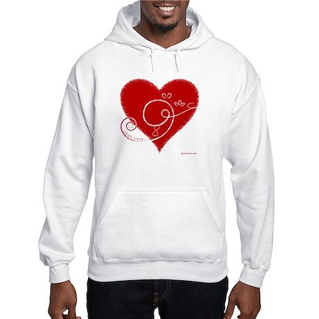Eshgh (Love in Persian) Hooded Sweatshirt