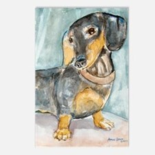 """""""Total Tude"""" a Dachshund Postcards (Package of 8)"""