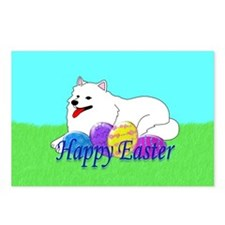 Samoyed Easter Postcards (Package of 8)