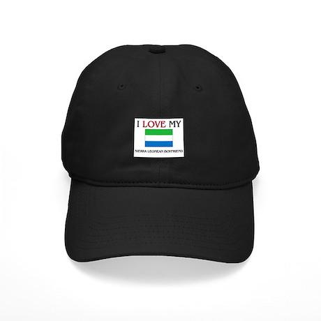 I Love My Sierra Leonean Boyfriend Black Cap