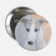 """Ivy"" a Whippet Button"