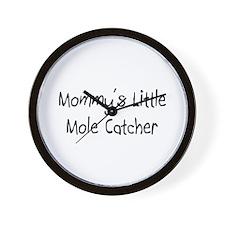 Mommy's Little Mole Catcher Wall Clock