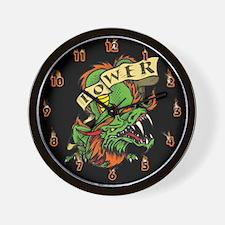 Dragon Power Wall Clock