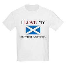 I Love My Scottish Boyfriend T-Shirt