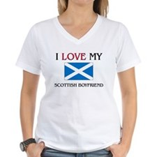 I Love My Scottish Boyfriend Shirt