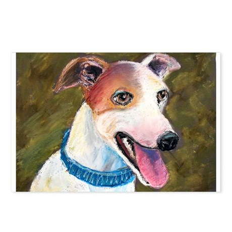 """""""Barney"""" a Whippet Postcards (Package of 8)"""