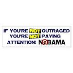 Outraged Bumper Sticker (10 pk)