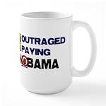 Outraged Large Mug
