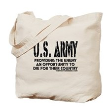 U.S. ARMY Providing Enemy Tote Bag