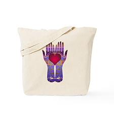 Heaven Hands Tote Bag