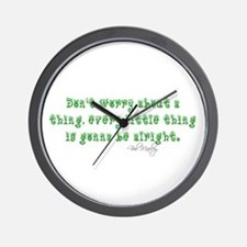 Marley Quote Wall Clock
