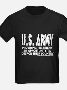 U.S. ARMY Providing Enemy T